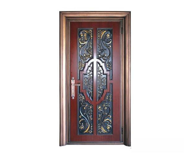 铸铝防盗门